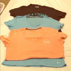 BUNDLE 3-V neck tshirts